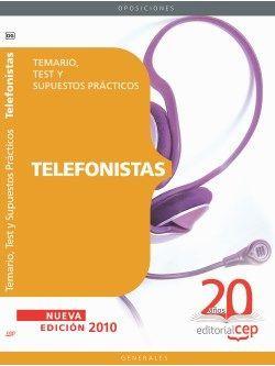 Telefonistas. Temario, Test y Supuestos Prácticos