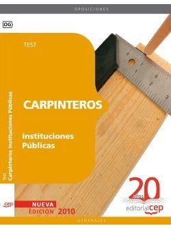 Carpinteros Instituciones Públicas. Test