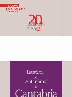 Estatuto de Autonomia de Cantabria