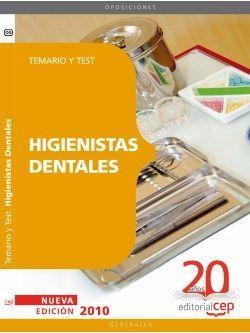 Higienistas Dentales. Temario y Test