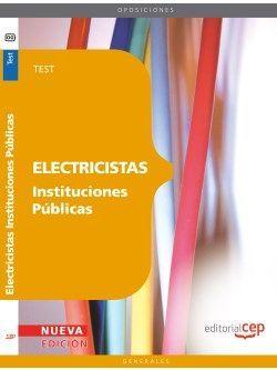 Electricistas Instituciones Públicas. Test