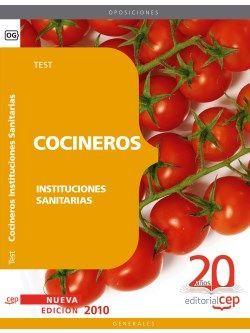 Cocineros de Instituciones Sanitarias. Test