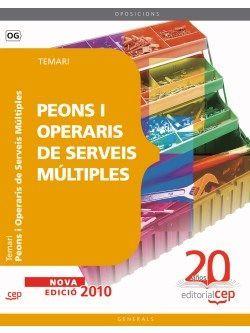Temari Peons i Operaris de Serveis Múltiples. Oposicions Generals