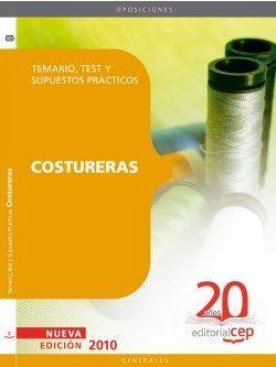 Costureras Temario, Test y Supuestos Prácticos