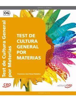 Test de Cultura General por Materias