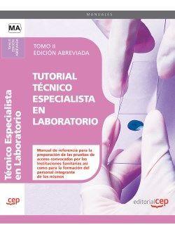 Comprar temario oposiciones Tecnico Especialista Laboratorio