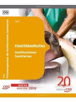 Fisioterapeutas Instituciones Sanitarias. Test