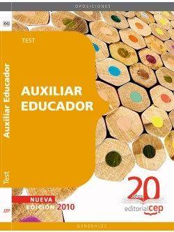 Auxiliar Educador. Test