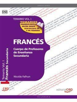 Temario oposiciones profesor frances