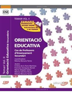 Cos de Professors d'Ensenyament Secundari. Orientació Educativa. Temari Vol. II.