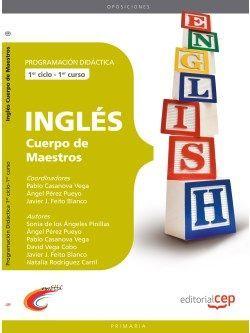 Cuerpo de Maestros. Inglés. Programación Didáctica.1er Ciclo