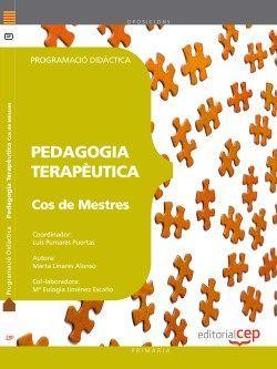 Cos de Mestres. Pedagogia Terapèutica. Programació Didàctica