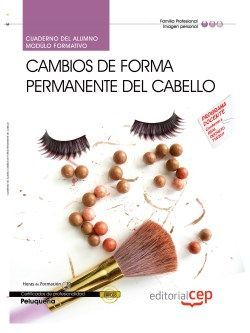 Cuaderno del certificado de profesionalidad de peluqueria