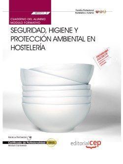 Cuaderno del certificado de hosteleria y turismo