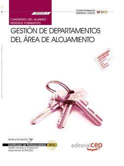 Cuaderno certificado de profesionalidad de gestion de pisos y alojamientos