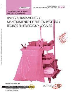 Cuaderno del certificado de limpieza de superficies y locales