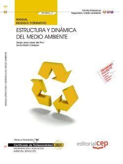 Manual Estructura y dinámica del medio ambiente (MF0804_3). Certificados de profesionalidad. Interpretación y educación ambiental (SEAG0109)