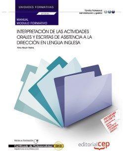 Manual del certificado de profesionalidad de asistencia a la dirección
