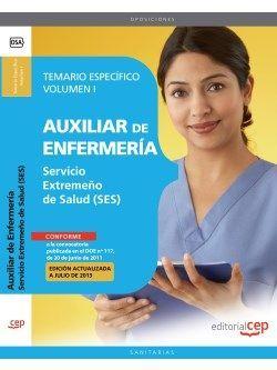 Temario oposiciones auxiliar de enfermeria SES