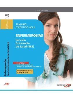 Temario oposiciones Enfermeria Servicio Extremeño de Salud