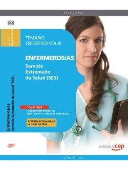 Temario especifico oposiciones Enfermeria SES