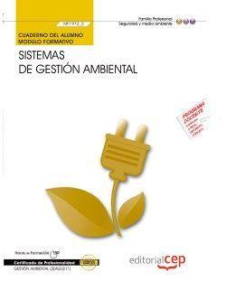 Cuaderno del certificado profesional de gestion ambiental