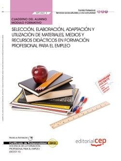 Cuaderno certificado profesional de docencia de la formacion para el empleo