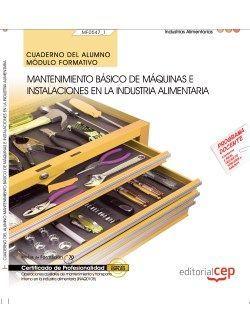 Cuaderno certificado aux mantenimiento y transporte industria alimentaria