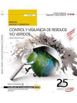 Manual. Control y vigilancia de residuos y/o vertidos (UF1263). Certificados de profesionalidad. Control y protección del medio natural (SEAG0309)