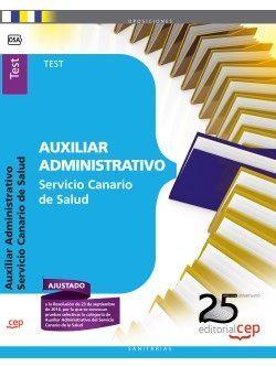 Auxiliar Administrativo del Servicio Canario de Salud. Test