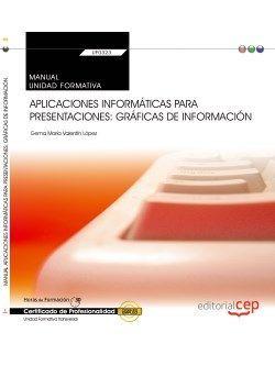 Manual. Aplicaciones informáticas para presentaciones: gráficas de información (Transversal: UF0323). Certificados de profesionalidad