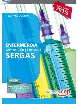Temario comun oposiciones enfermeria SERGAS