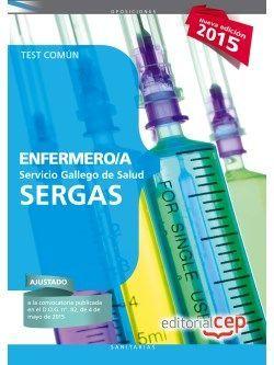 Test comun oposiciones enfermeria SERGAS
