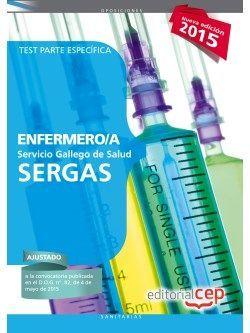 Enfermero/a del Servicio Gallego de Salud (SERGAS). Test Parte Específica