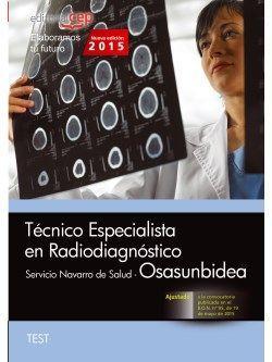 Test oposiciones especialista en radiodiagnostico osasunbidea