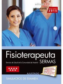 Modelos de examen de las oposiciones de fisioterapeuta SERMAS