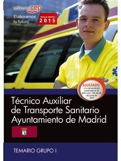 Temario oposiciones auxiliar de transporte sanitario de madrid