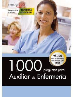 1000 preguntas para Auxiliar de Enfermería