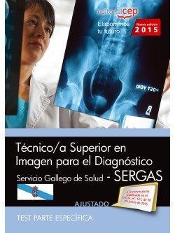Técnico/a superior en imagen para el diagnóstico. Servicio Gallego de Salud (SERGAS). Test parte específica