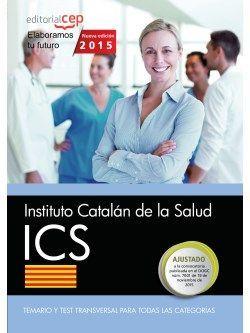 Instituto Catalán de la Salud. Temario y test transversal para todas las categorías