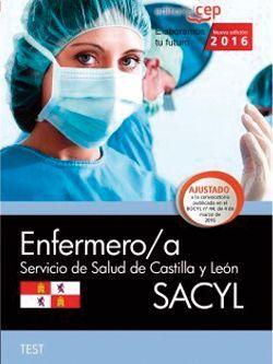 Enfermero/a. Servicio de Salud de Castilla y León (SACYL). Test