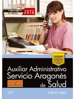 Test oposiciones auxiliar administrativo turno libre SALUD