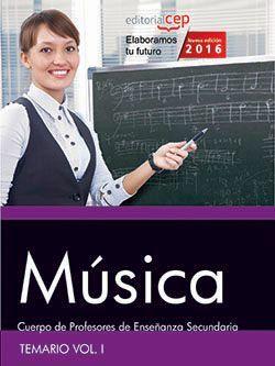 Temario oposiciones profesor de musica