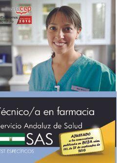 Técnico/a en farmacia. Servicio Andaluz de Salud (SAS). Test específicos