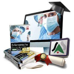 Pack de libros + curso avanzado. Enfermero/a. SAS
