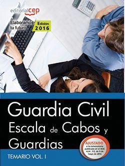 Temario oposiciones guardia civil