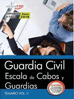 Comprar temario oposiciones guardia civil