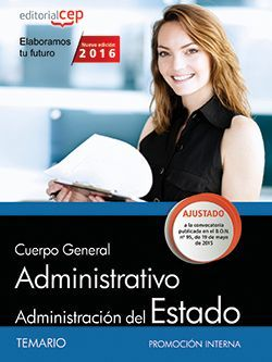 Cuerpo General Administrativo de la Administración General del Estado (Promoción interna). Temario