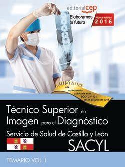 Temario oposiciones tecnico de imagen para el diagnostico sacyl