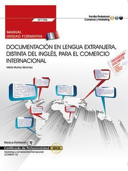 Manual Francés Documentación Comercio Internacional UF1786 COMM0110